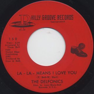 Delfonics / La La Means I Love You c/w Can't Get Over Losing You