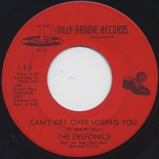 Delfonics / La La Means I Love You c/w Can't Get Over Losing You back