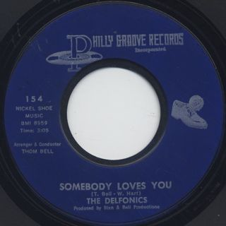 Delfonics / Ready Or Not Here I Come c/w Somebody Loves You back