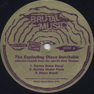 Dom Thomas / Brutal Music 2: The Exploding Disco Inevitable label