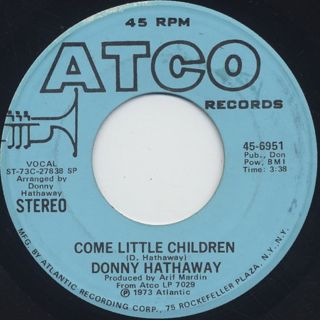 Donny Hathaway / Come Little Children