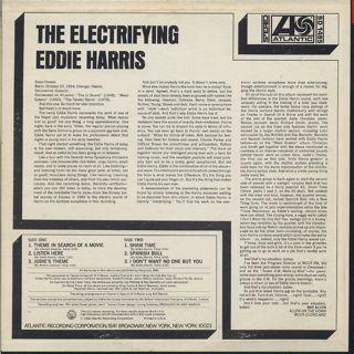 Eddie Harris / Electrifying back