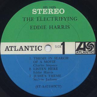 Eddie Harris / Electrifying label