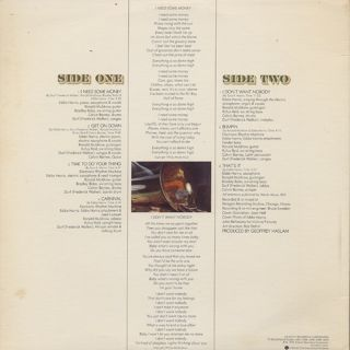 Eddie Harris / I Need Some Money back