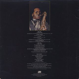 Eddie Harris / Is It In back