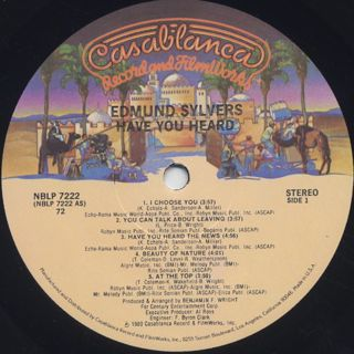 Edmund Sylvers / Have You Heard label