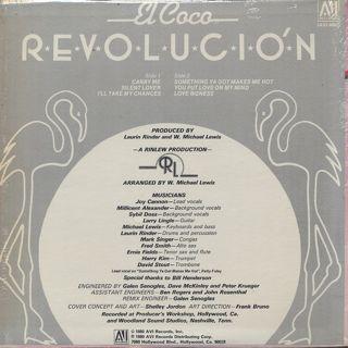 El Coco / Revolucion back