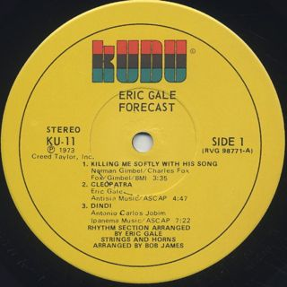 Eric Gale / Forecast label
