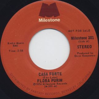 Flora Purim / Casa Forte c/w Search For Peace