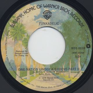 Funkadelic / One Nation Under A Groove (45) back