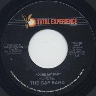 Gap Band / I Found My Baby (7