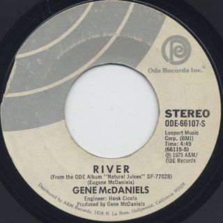 Gene McDaniels / Lady Fair c/w River back