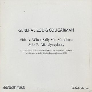 General Zod & Cougarman / When Sally Met Mandingo / Afro Symphony back