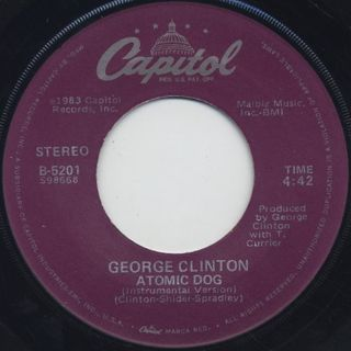 George Clinton / Atomic Dog back