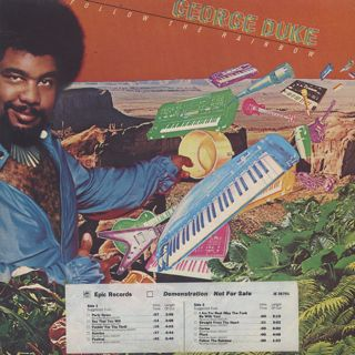 George Duke / Follow The Rainbow front
