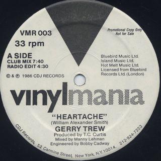 Gerry Trew / Heartache