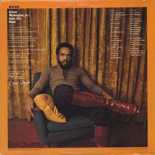 Grover Washington, Jr. / Inner City Blues back