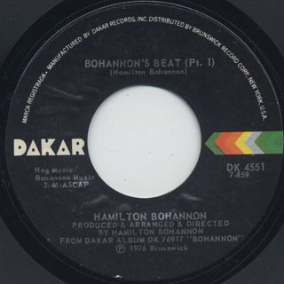 Hamilton Bohannon / Bohannon's Beat