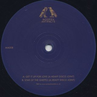 Heavy Disco / Get It Up For Love c/w Star Of The Ghetto back