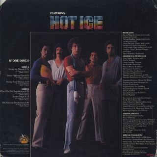 Hot Ice / Stone Disco back