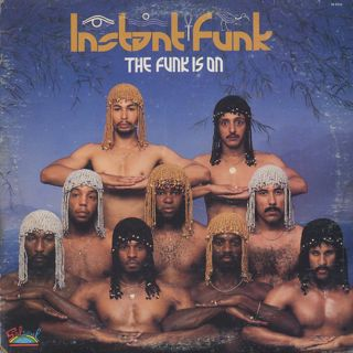 Instant Funk / The Funk Is On front