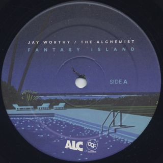 Jay Worthy & The Alchemist / Fantasy Island label