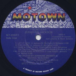 Jermaine Jackson / Frontiers label