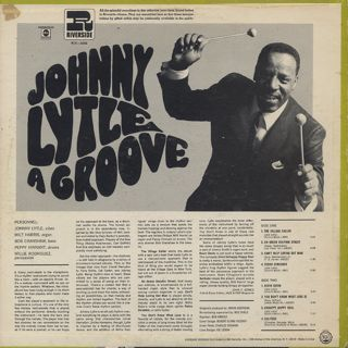 Johnny Lytle / A Groove back