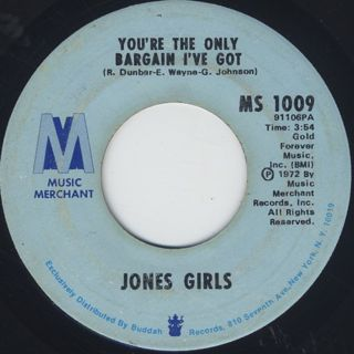 Jones Girls / Your Love Controls Me back