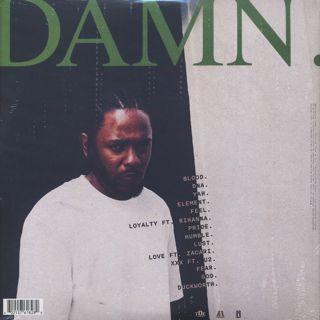 Kendrick Lamar / DAMN.(2LP) back
