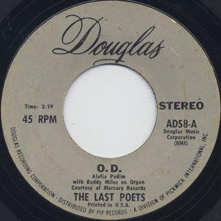 Last Poets / O.D. c/w Black Thighs