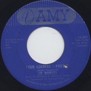 Lee Dorsey / Four Corners Part I c/w Part II back