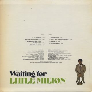 Little Milton / Waiting For Little Milton back