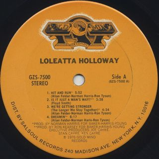 Loleatta Holloway / Loleatta label