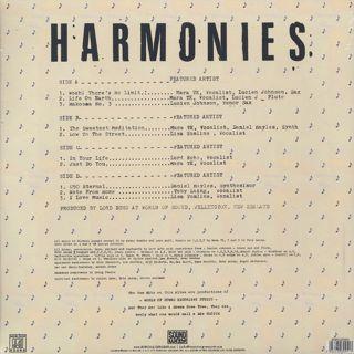 Lord Echo / Harmonies (2LP) back
