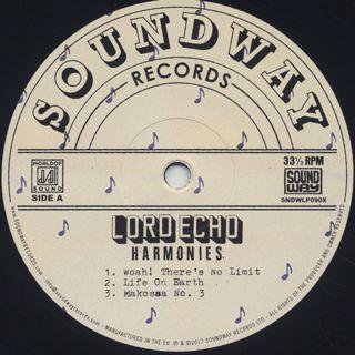 Lord Echo / Harmonies (2LP) label