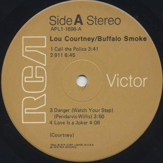 Lou Courtney / Baffalo Smoke label