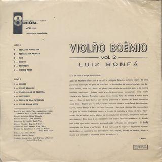 Luiz Bonfa / Violão Boêmio Vol. 2(Violao Boemio vol.2) back