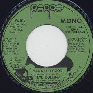 Lyn Collins / Mama Feelgood front