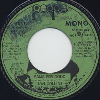 Lyn Collins / Mama Feelgood back