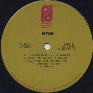 MFSB / S.T. label