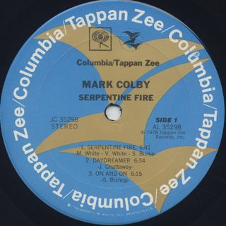 Mark Colby / Serpentine Fire label