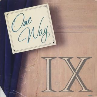 One Way / One Way IX front