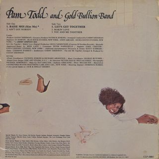 Pam Todd and Gold Bullion Band / Together back