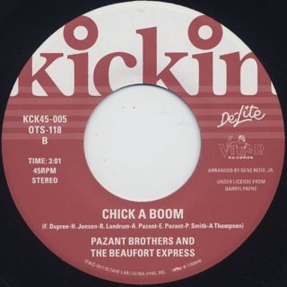 Pazant Brothers And The Beaufort Express / Chick A Boom (DJ Koco Edit) back
