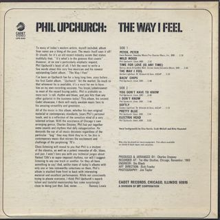 Phil Upchurch / The Way I Feel back