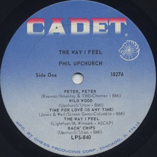 Phil Upchurch / The Way I Feel label