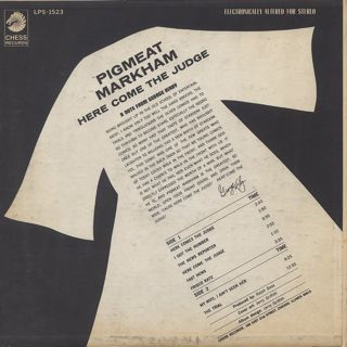 Pigmeat Markham / Here Come The Judge back