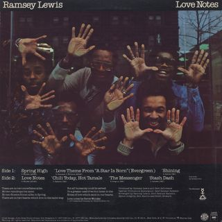 Ramsey Lewis / Love Notes back