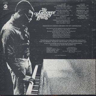 Ramsey Lewis / The Groover back